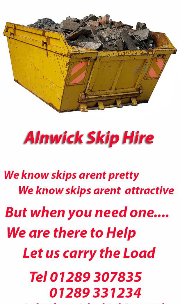 Whittingham  Alnwick Skip Hire