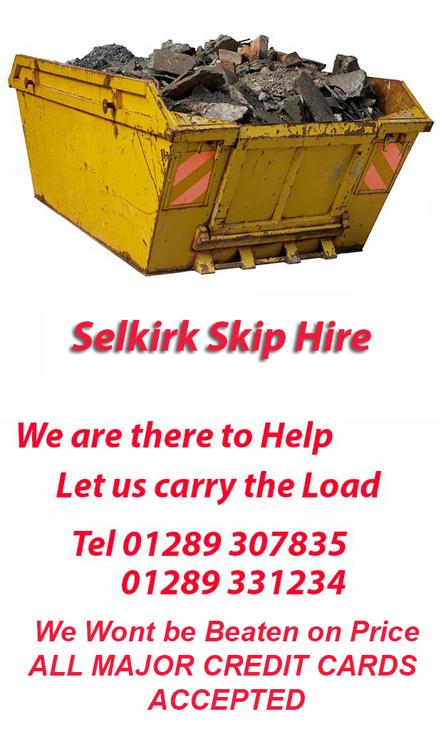 Tweedmouth- Selkirk Skip Hire